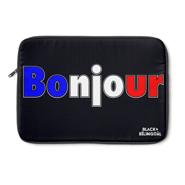 Bonjour! Greetings Collection Laptop Sleeve