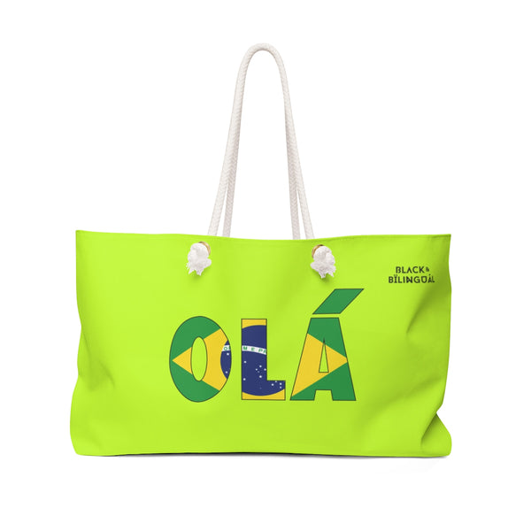 Olá! Weekender Greetings Collection Bag