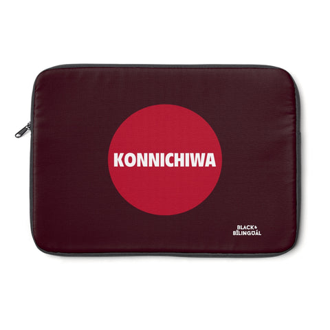 Konnichiwa! Greetings Collection Laptop Sleeve