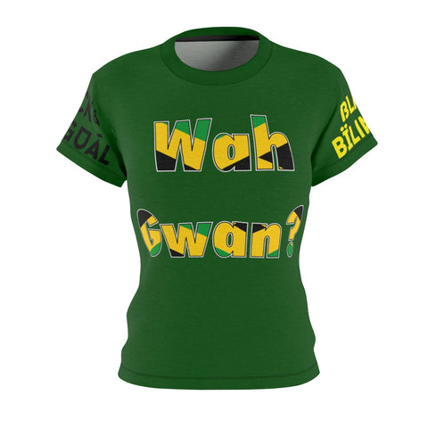 Wah Gwan! Women's Greetings Collection Tee