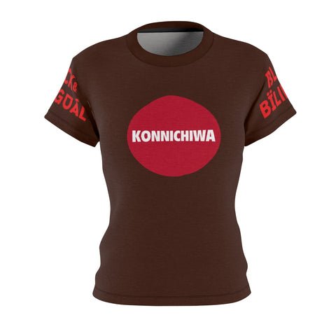 Konnichiwa! Women's Greetings Collection Tee