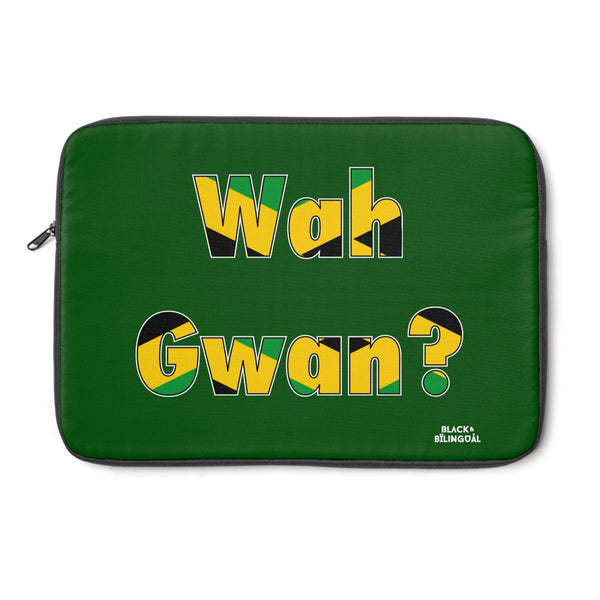 Wah Gwan! Greetings Collection Laptop Sleeve