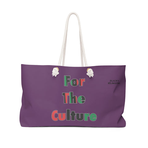 For The Culture! Weekender Greetings Collection Bag