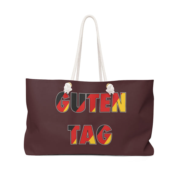 Guten Tag! Weekender Greetings Collection Bag