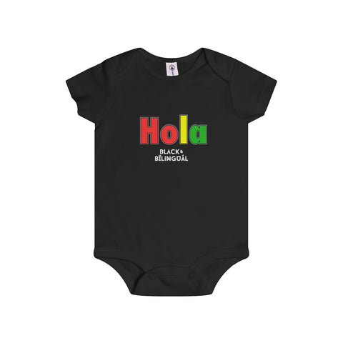 Hola! Infant Greetings Collection Onesie