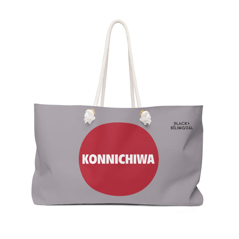 Konnichiwa! Weekender Greetings Collection Bag