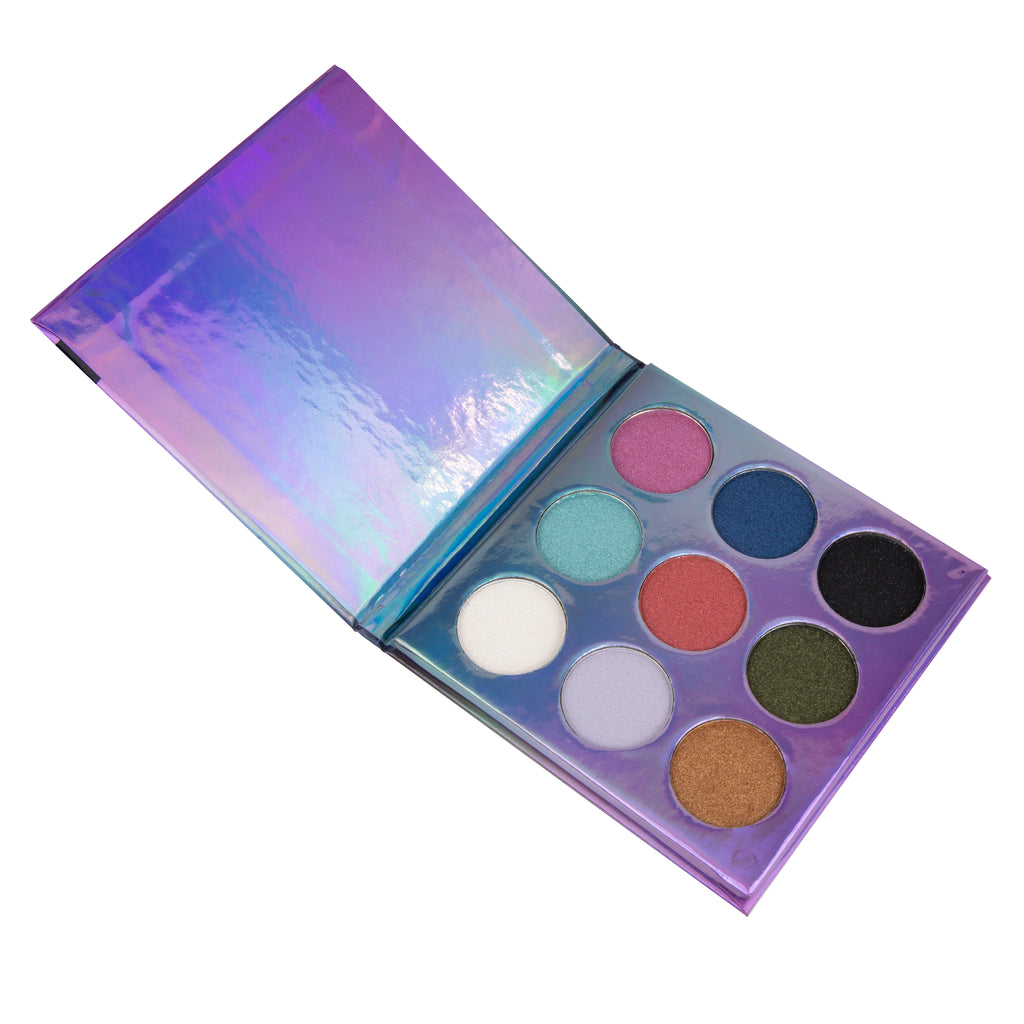 L.A. COLORS - BEAUTY BOOKLET - EYESHADOW PALETTE - The Bold Lipstick
