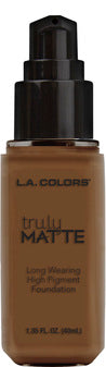 L.A. COLORS - TRULY MATTE FOUNDATION - The Bold Lipstick