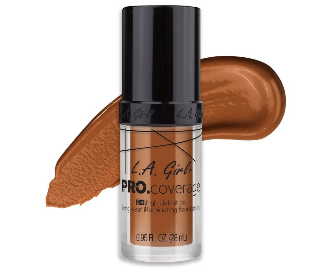 L.A. GIRL - PRO Coverage Illuminating Foundation - The Bold Lipstick