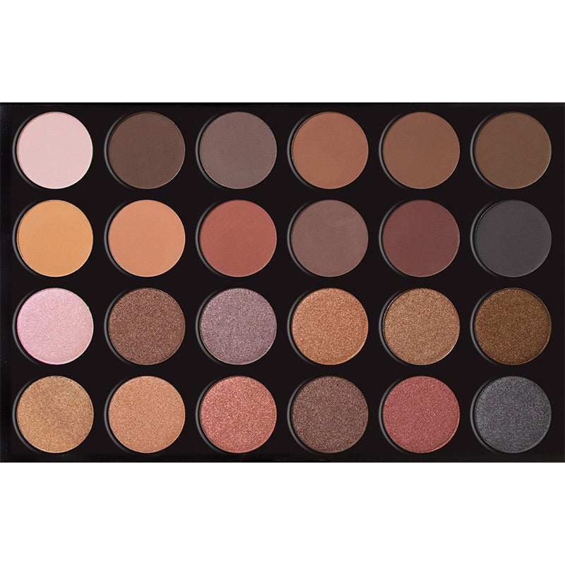 24 Colors Eyeshadow Palette - DOWNTOWN LA