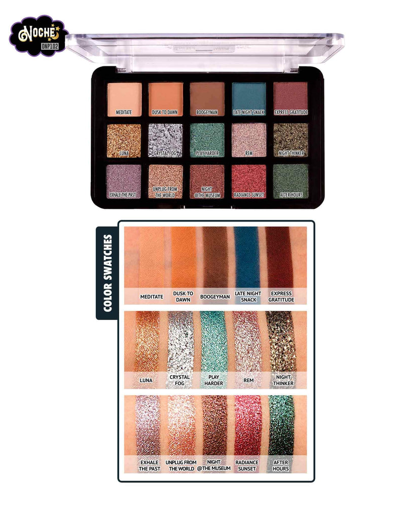 Dia&Noche Tri-Element 15 Eyeshadow Palette
