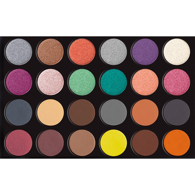 24 Colors Eyeshadow Palette  - HOLLYWOOD