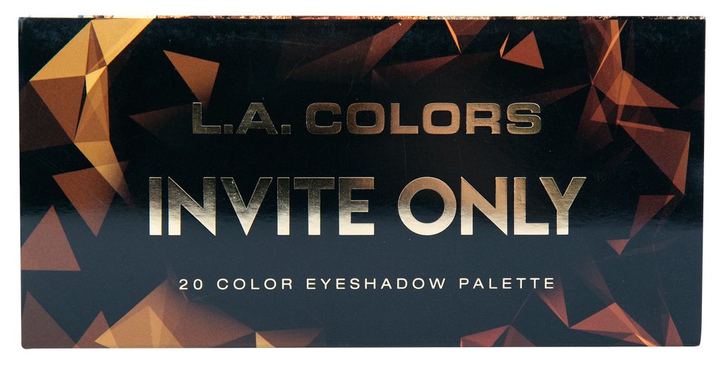 20 COLOR EYESHADOW PALETTE - INVITE ONLY