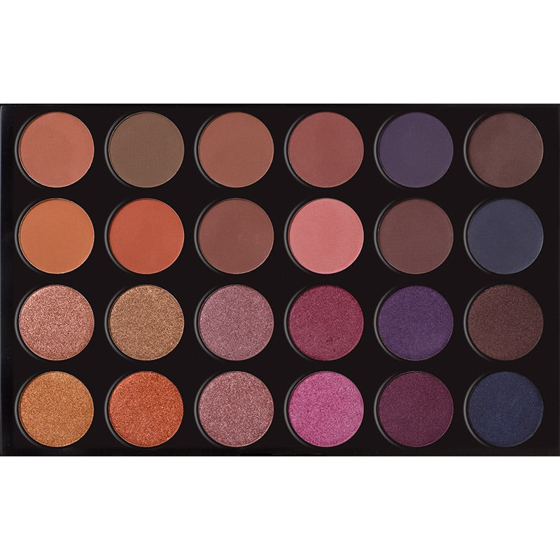 24 Colors Eyeshadow Palette - MELROSE AVE