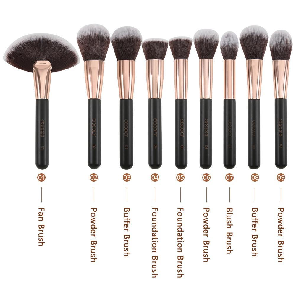 Rose Gold - 28 Piece Makeup Brush Set