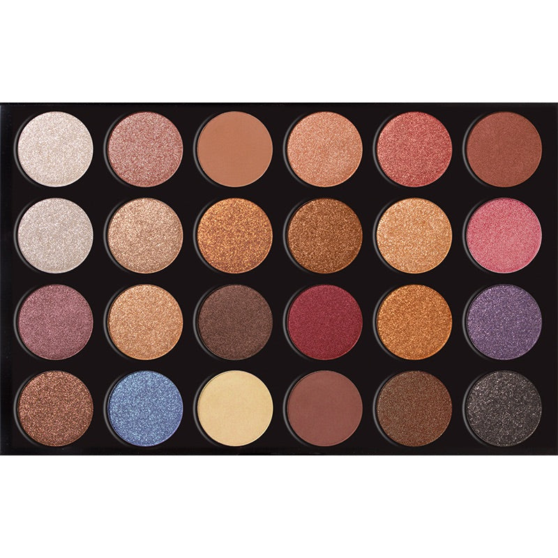 24 Colors Eyeshadow  Palette - BEVERLY HILLS 90210