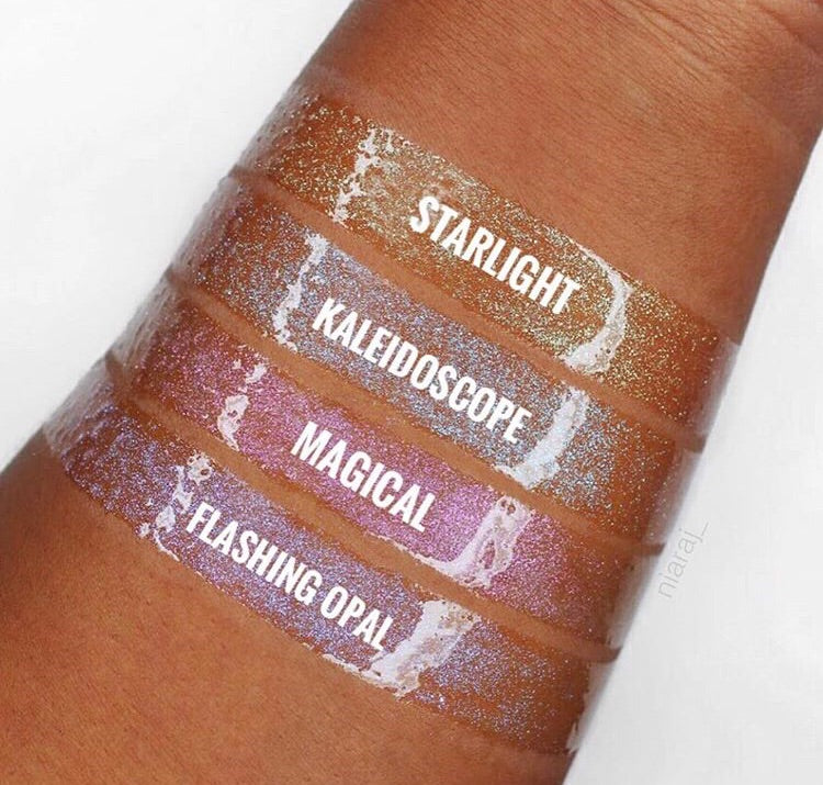 L.A. GIRL - Holographic Gloss Topper - The Bold Lipstick