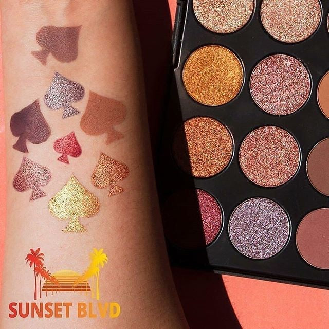 24 Colors Eyeshadow Palette - SUNSET BLVD
