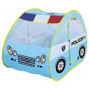 Police Car Play Tent - Light Blue | Kid Play Tents