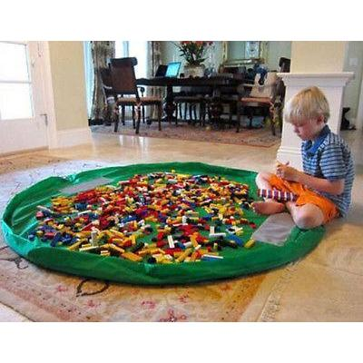 Playmat and Storage Bag for Toys | Kid Play Tents