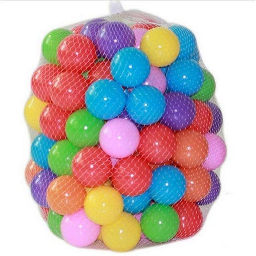 3-inch Soft Plastic Balls 100ct | Kid Play Tents