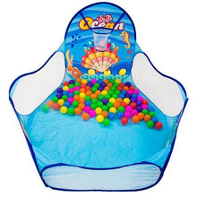 Ocean Ball Pit with Hoop | Kid Play Tents