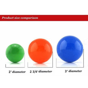 3-inch Soft Plastic Balls 50ct | Kid Play Tents