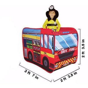 Fire Truck Play Tent - Large | Kid Play Tents