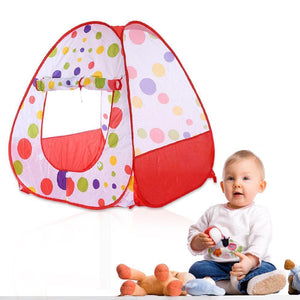 Colorful Play Tent/Ball Pit - Small | Kid Play Tents