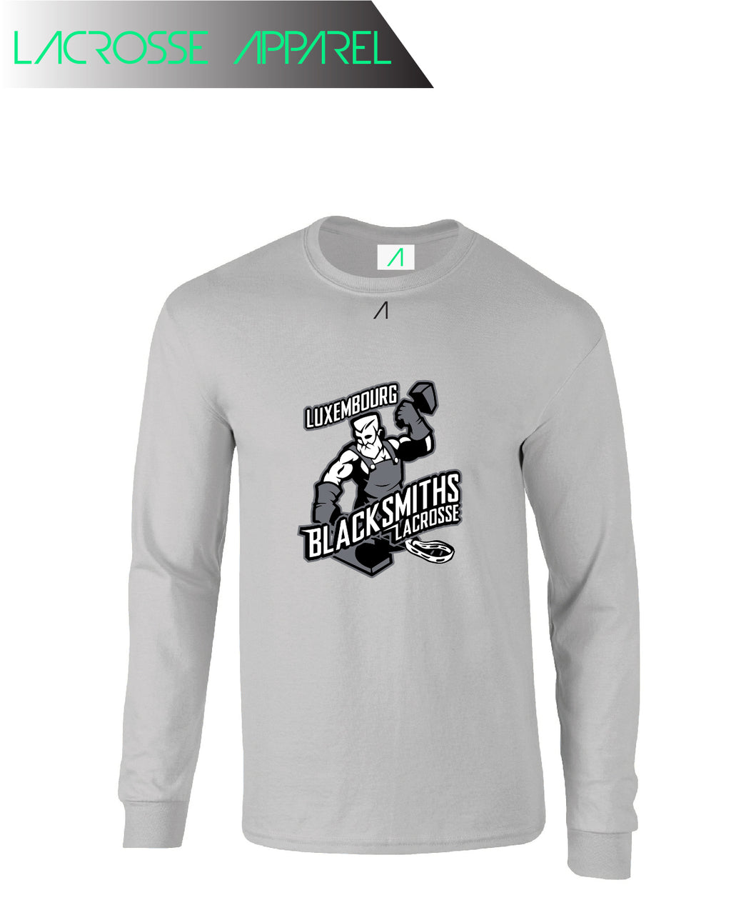 Luxembourg Blacksmiths Large Print Longsleeve