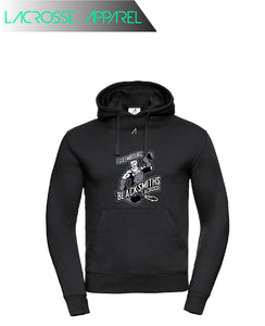 Luxembourg Blacksmiths Large Print Hoodie