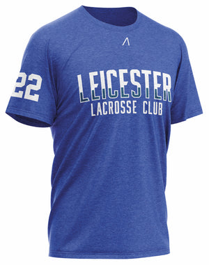 Leicester Lacrosse Club Blue T-Shirt