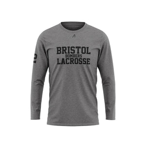 Bristol Grey Long Sleeve T-shirt