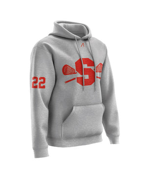 Sheffield Steelers Lacrosse Club Grey Hoodie