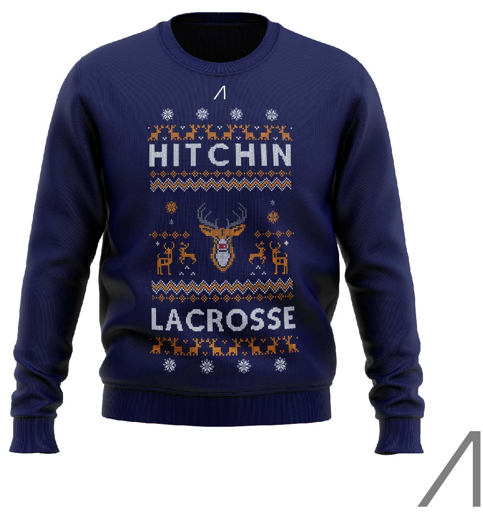 Hitchin Lacrosse Christmas Jumper