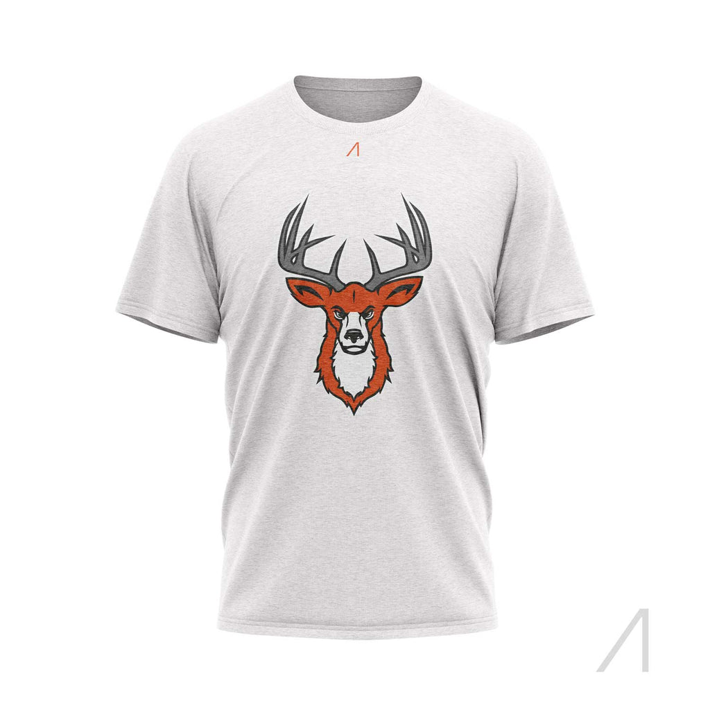 Hitchin Stag White T-shirt