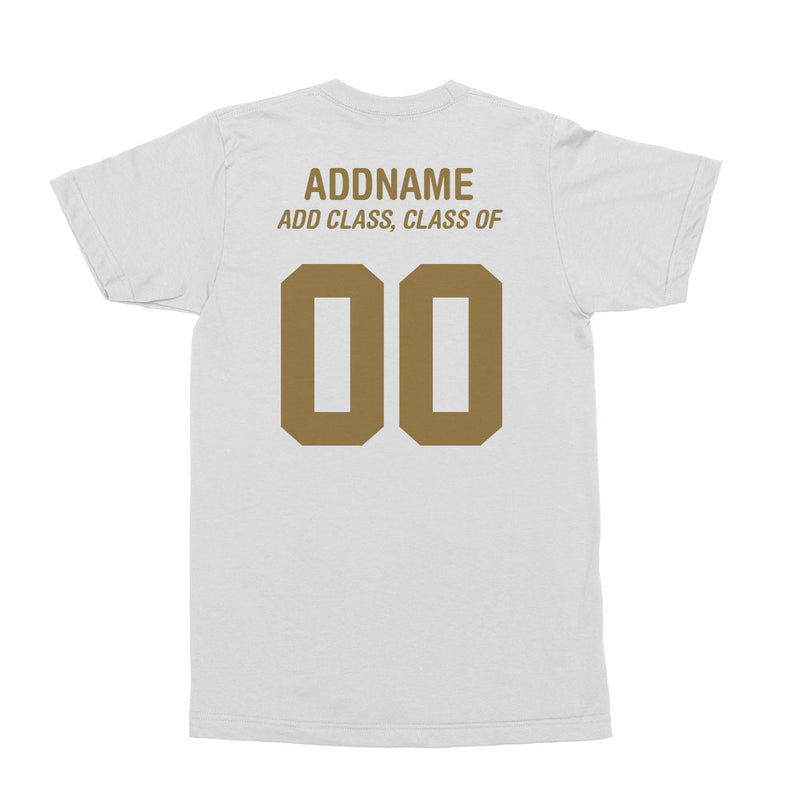 Ace EdVenture Alumni Personalised Jersey-Styled Men's T-Shirt
