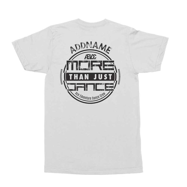 AEVDC More Than Just Dance White Men's T Shirt
