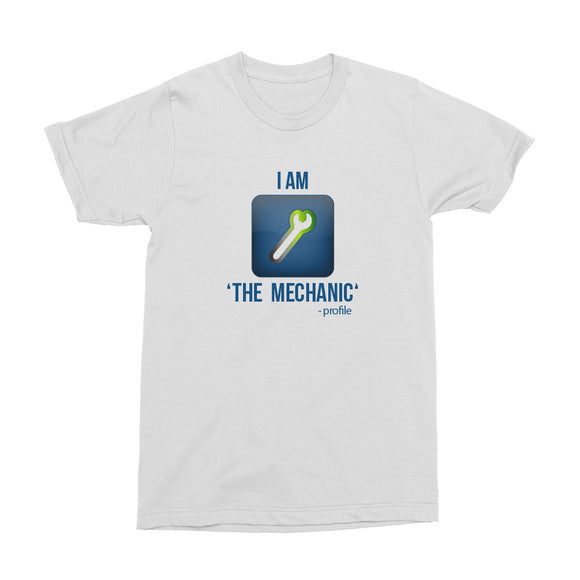 Wealth Dynamics I Am The Mechanic Men's T-Shirt