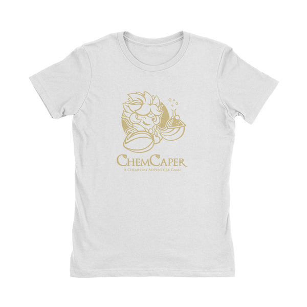 ChemCaper GDC Women's White T-Shirt