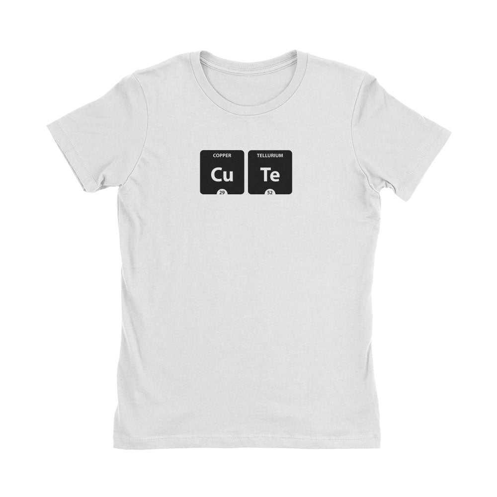 Periodic Table Cute Women's T-Shirt