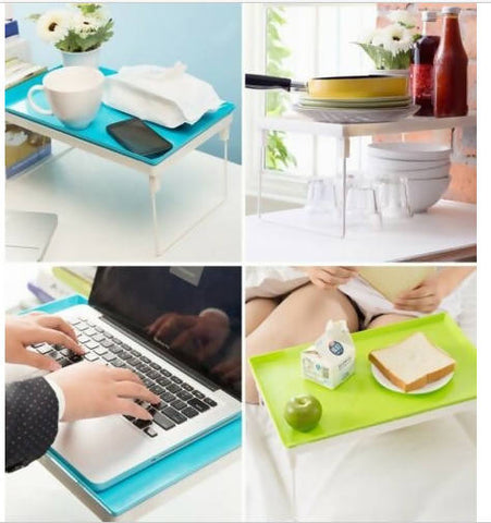 Portable Multifunctional Dawdler Desk Laptop Notebook Computer Foldable Table