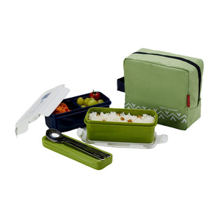 Komax Lunchmate Bento Lunch Bag and Box Kit Made in South Korea