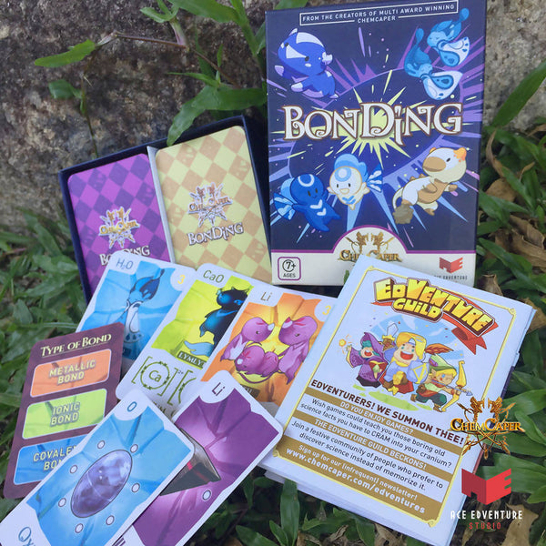 Chemistry Card Game Set