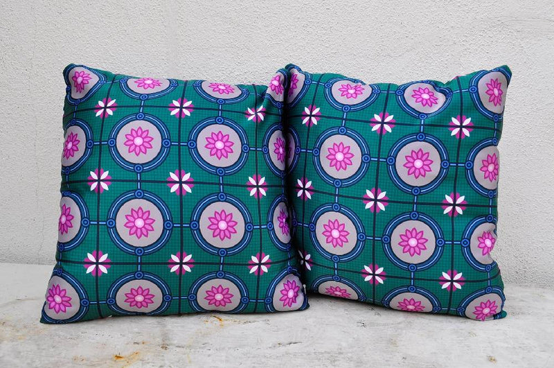 Peranakan Pillow Cover Floral