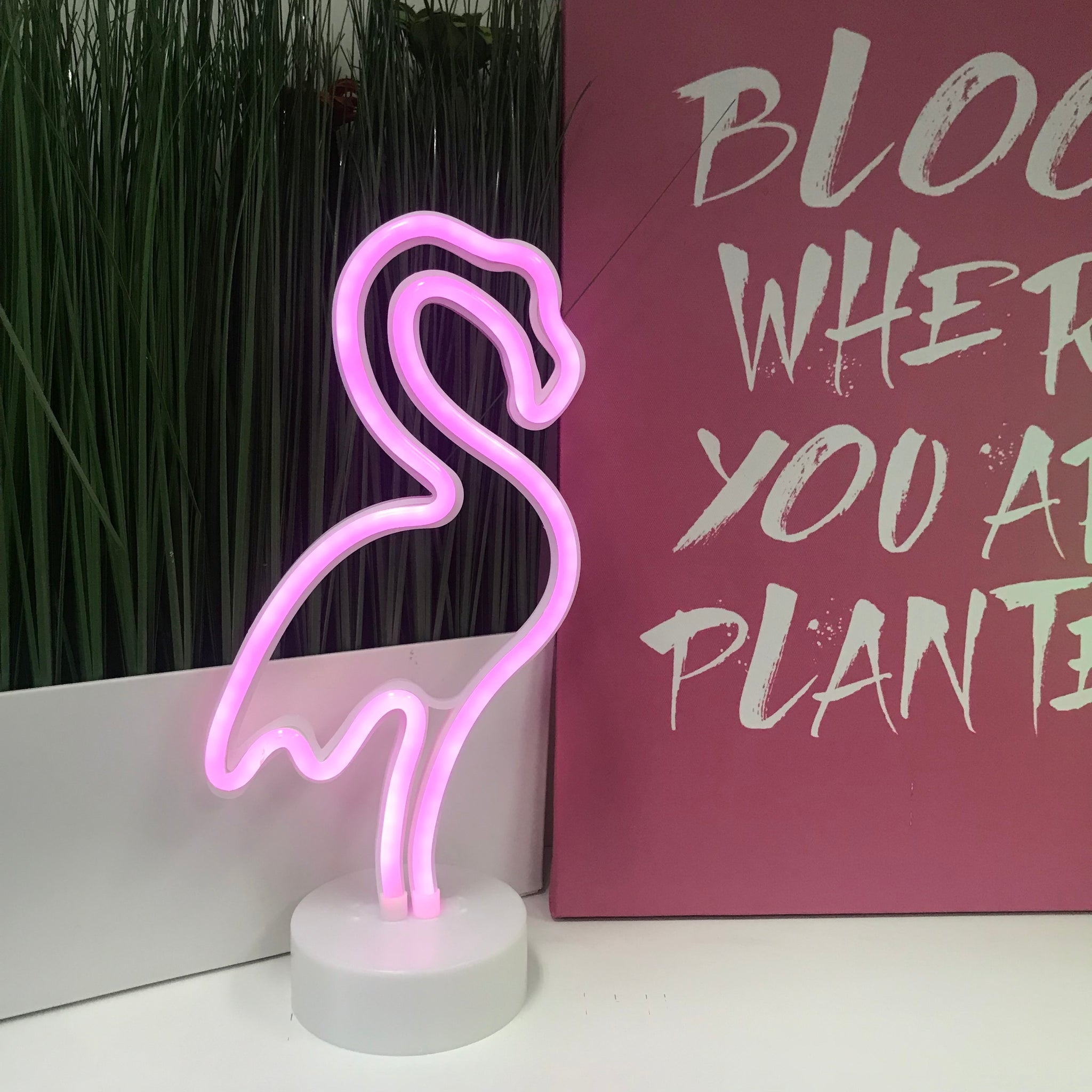 Flamingo Neon LED Lamp