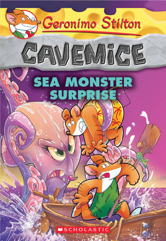 Geronimo Stilton Cavemice #11: Sea Monster Surprise