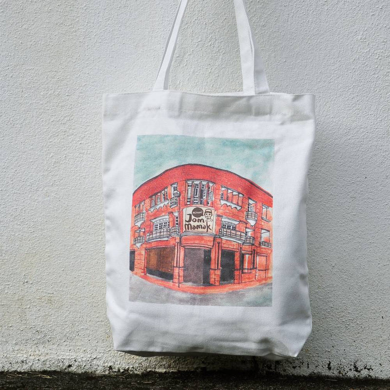 Jom Mamak Canvas Totebag (M)