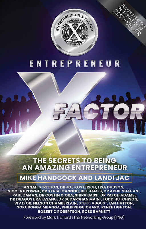 Entrepreneur X Factor (2nd Edition): The Secrets To Being An Amazing Entrepreneur (epub edition)
