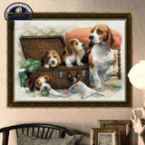 cross stitch (doggie)